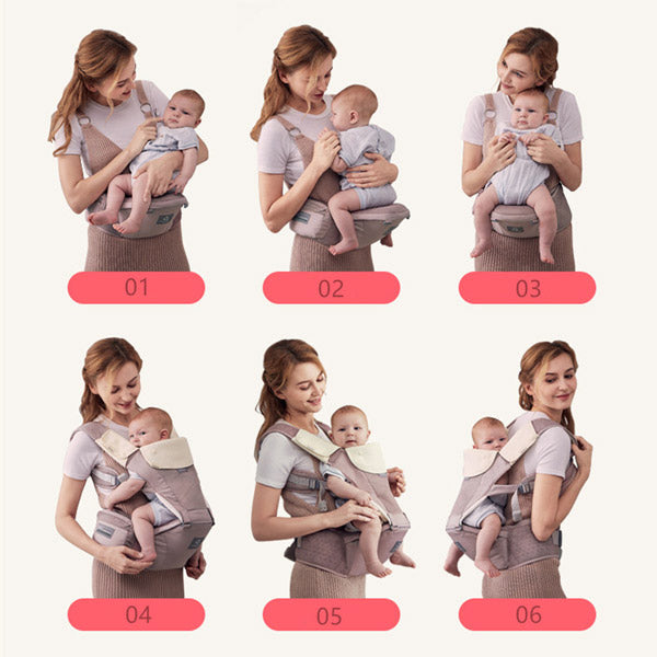 (New) Bebear Ultimate Comfort Hip Seat Baby Carrier