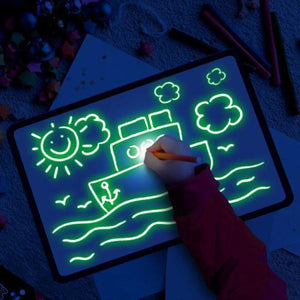 Magic LED Light Drawing Pad for Kids