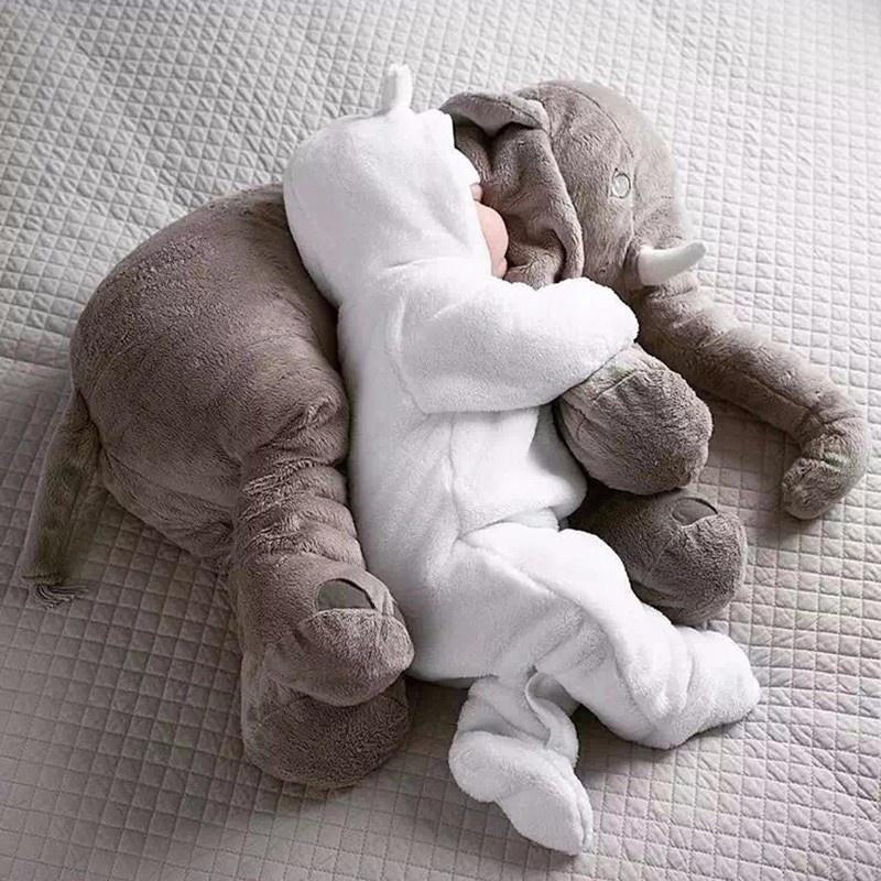 Stuffed Elephant Baby Pillow/Toy