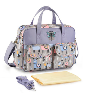 Insular Multicolored Tote Baby Diaper Bags