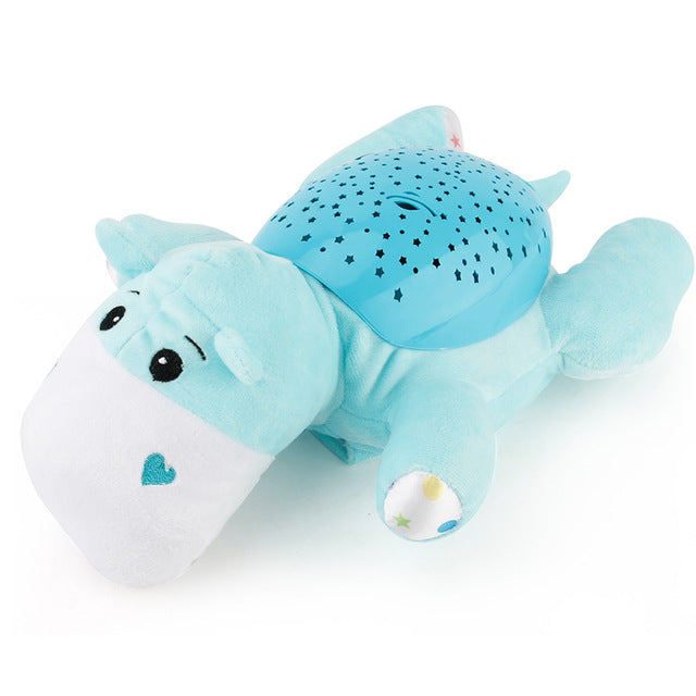 Cute Baby Slumber Buddies Projection and Melodies Soother