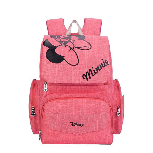 Disney Mickey/Minnie Mouse Diaper Bag Backpack - Anywhere I Go
