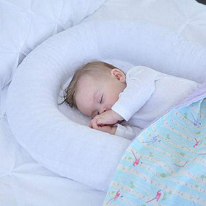 Baby Snuggle Nest, Baby Lounger, Portable Infant Sleeper - Perfect for Travel and Co-Sleeping