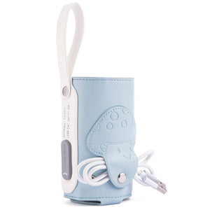 Nicepapa Portable Insulation USB Travel Baby Bottle Warmer