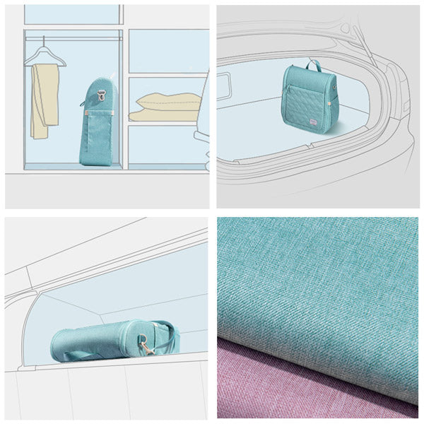 Sunveno Portable Baby Bed - Lightweight for Easy Travel