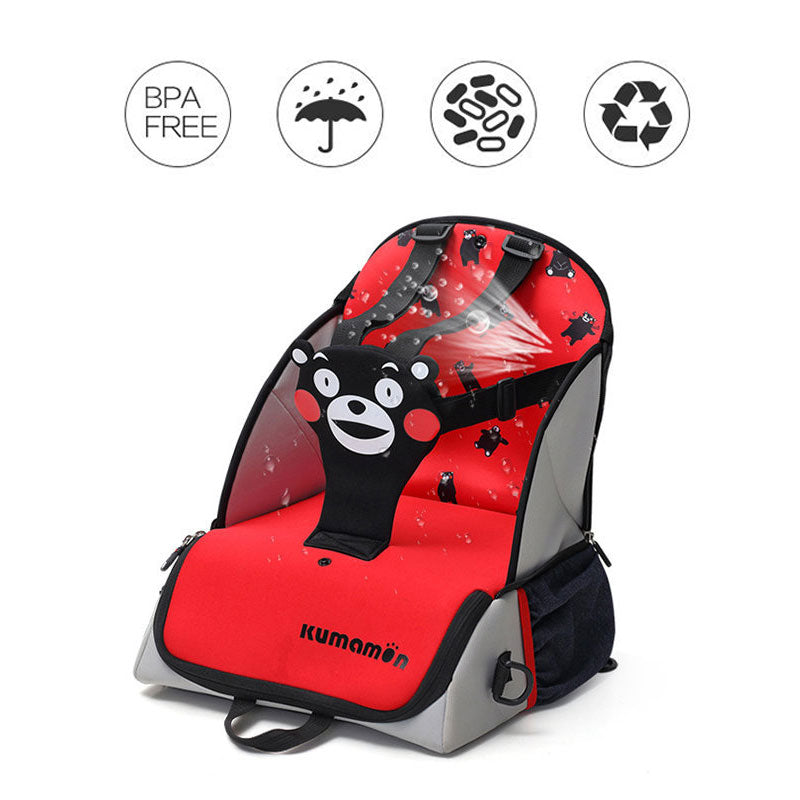 B. Duck & Kumamon Multifunctional Baby Backpack Diaper Bag Travel Booster Seat for Table