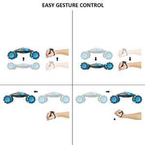 CityToy™ Gesture/Remote Control Double Side Sided Stunt Car
