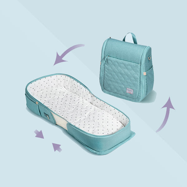 Sunveno® Easy-to-Go™ Baby Portable Travel Bassinet Backpack Snuggle Nest