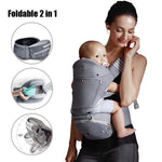 Bebear Alpha X 6 in 1 Ergonomic Baby Carrier Backpack with Hip Seat (Doctor-Approved)