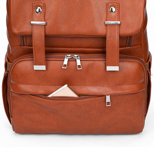 The Fiona City Diaper Bag Backpack