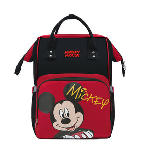 Disney Mickey/Minnie Mouse Diaper Bag Backpack - Mocha