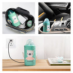 Sunveno Portable Insulation USB Travel Baby Bottle Warmer