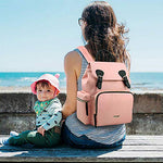 Clamshell Collection Waterproof Diaper Backpack