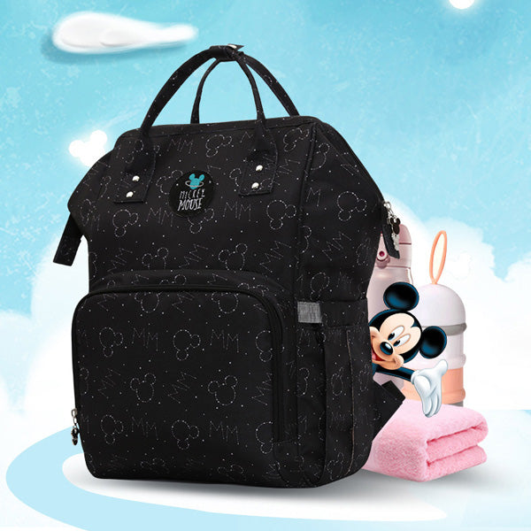 Disney Mickey/Minnie Mouse Diaper Bag Backpack - Weekender