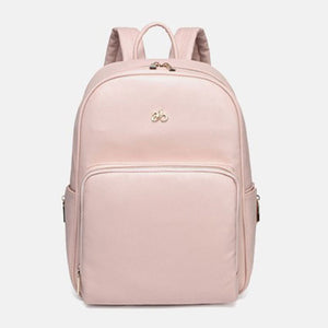 Aimababy Simply Chic Small Leather Diaper Backpack