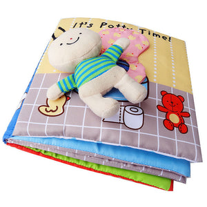 My Quiet Soft Baby Books - Bath & Potty