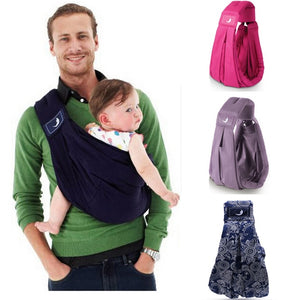 New BabaSling Breathable Cotton Infant/Baby Carrier