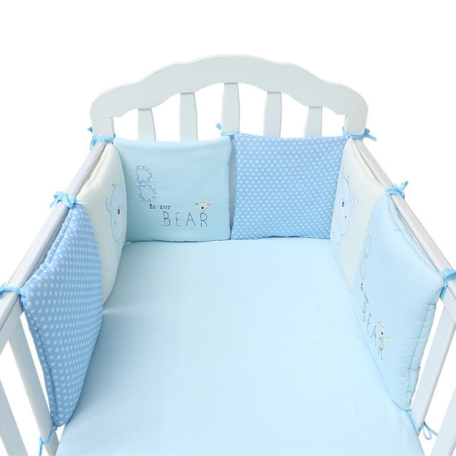 Baby Breathable Crib Bumper Pads for Standard Cribs (6PCS)