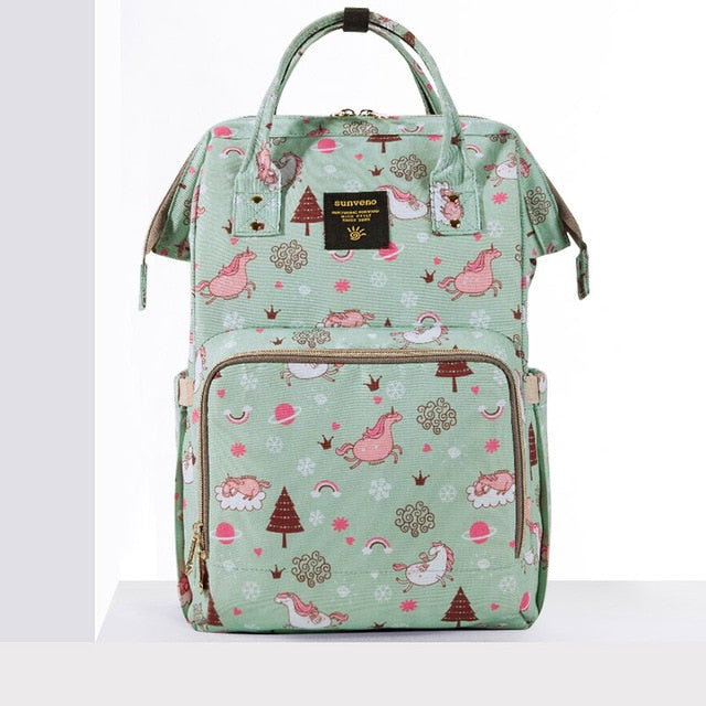 Sunveno Anywhere I Go Fairyland Backpack Maternity Diaper Bag