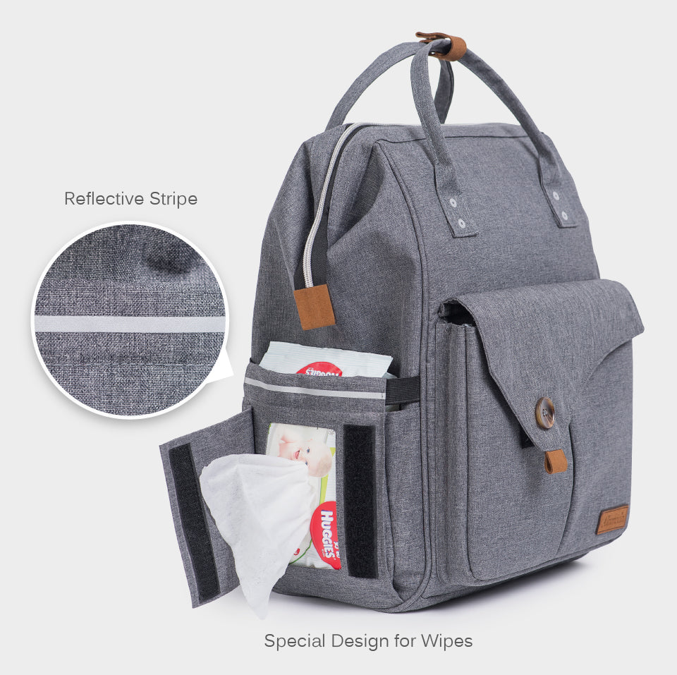 Alameda Diaper Backpack for Mom and Dad