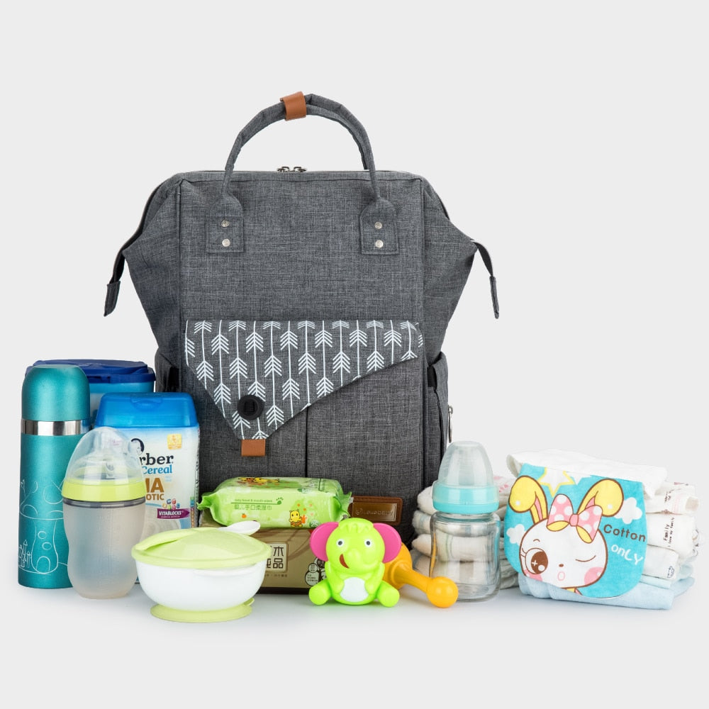 Stylish New Mom Diaper Bag Backpack