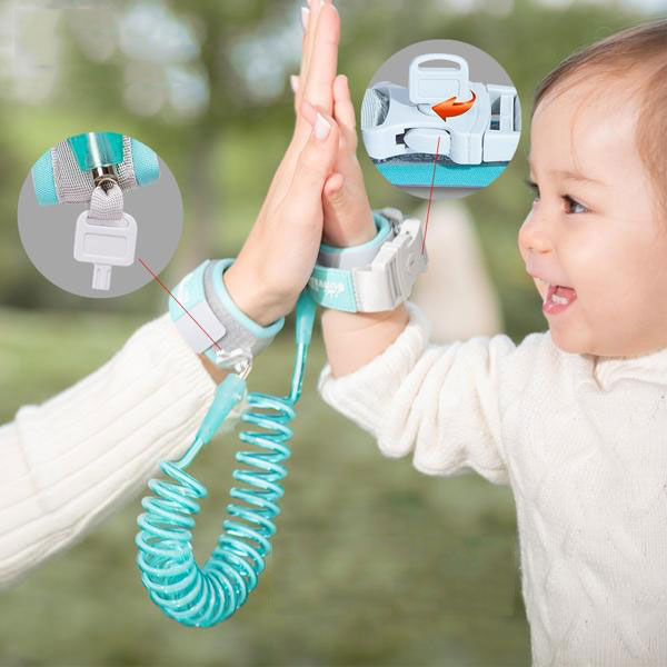 Sunveno Toddler & Child Anti-Lost Safety Harness Wrist Link Straps