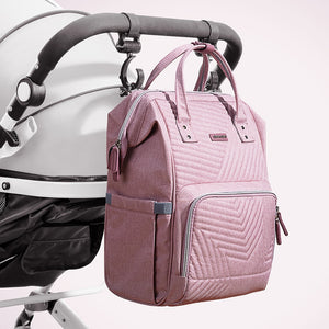 Sunveno New Quilted Backpack Diaper Bag