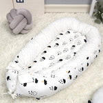 2019 New Infant Baby Snuggle Nest Safe Co Sleeper Bed for Crib