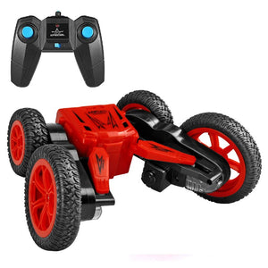 CityToy™ The Flash Remote Control Stunt Car