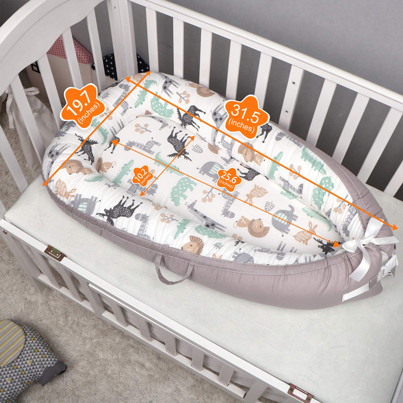 The Summer All in One Baby Lounger - Perfect for Co Sleeping
