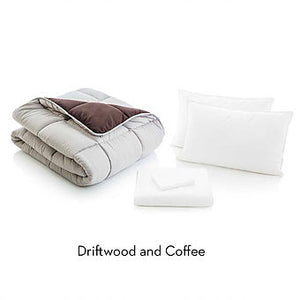 MALOUF Woven Reversible Bed in a Bag