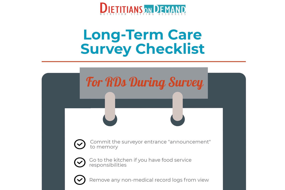 Long-Term Care Survey Checklist | Infographic