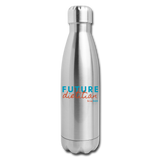Future Dietitian Insulated Water Bottle - silver