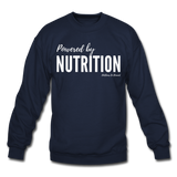 Powered by Nutrition Crewneck Sweatshirt - navy