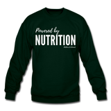 Powered by Nutrition Crewneck Sweatshirt - forest green