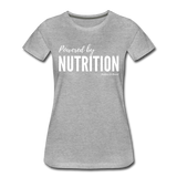 Powered By Nutrition Tshirt - heather gray