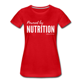 Powered By Nutrition Tshirt - red