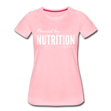 Powered By Nutrition Tshirt - pink