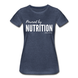 Powered By Nutrition Tshirt - heather blue