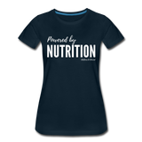 Powered By Nutrition Tshirt - deep navy