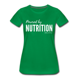 Powered By Nutrition Tshirt - kelly green