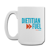 Dietitian Fuel Ceramic Mug 11 oz - white