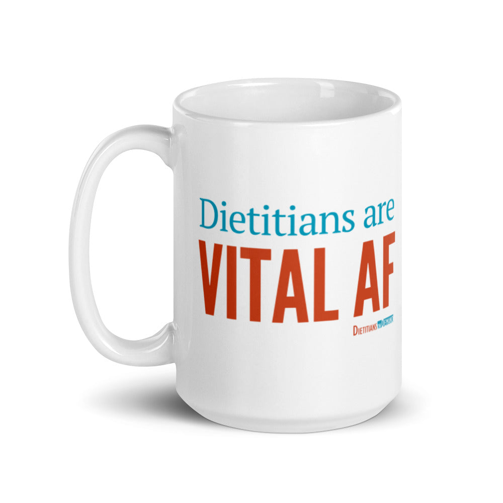 Dietitians are Vital AF Ceramic Mug