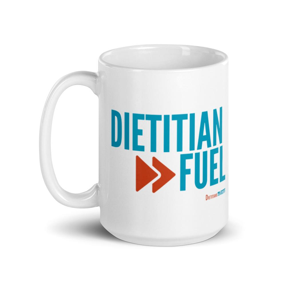 Dietitian Fuel Ceramic Mug 15 oz
