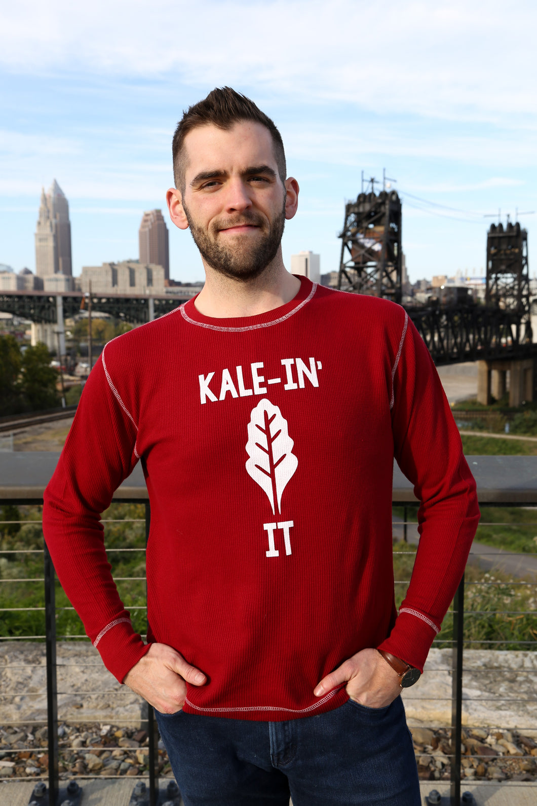 Kale-In It (Red Thermal)