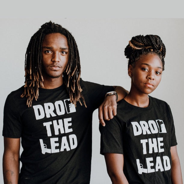 Drop The Lead (Black T-shirt)