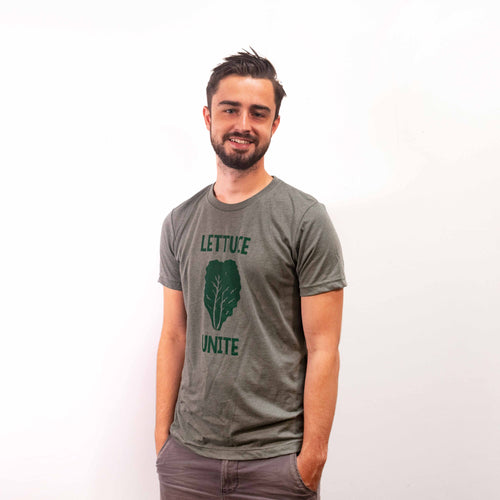 Lettuce Unite (Mltry Green T-Shirt)