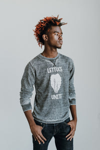 Lettuce Unite (Washed Out Grey Thermal)