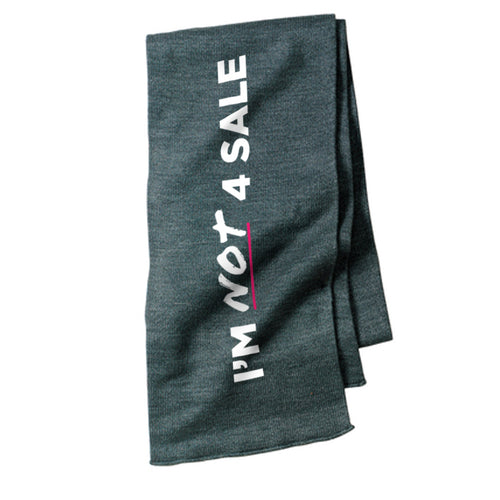 I'm NOT 4 Sale (Grey Scarf)