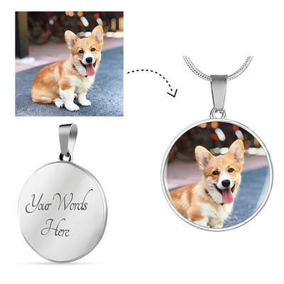 Personalized Necklace - Just For Dogs